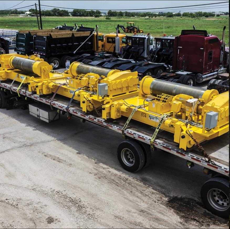 Overhead Crane Installation Procedures: Built Up Hoists