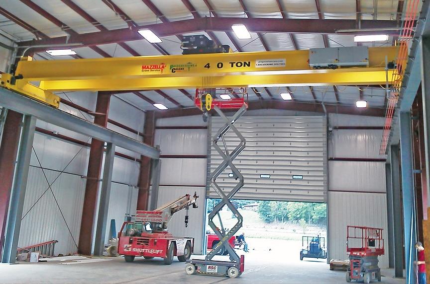 Overhead Crane Installation Procedures: Modular Crane Installation