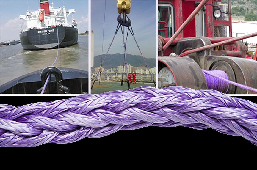 Plasma Synthetic Rope: Versatility for Lifting, Winching, and Mooring: Applications 2