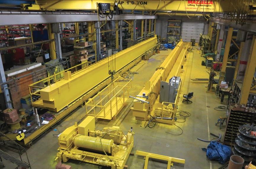 Purchasing an Overhead Crane Process: Class E Crane Build