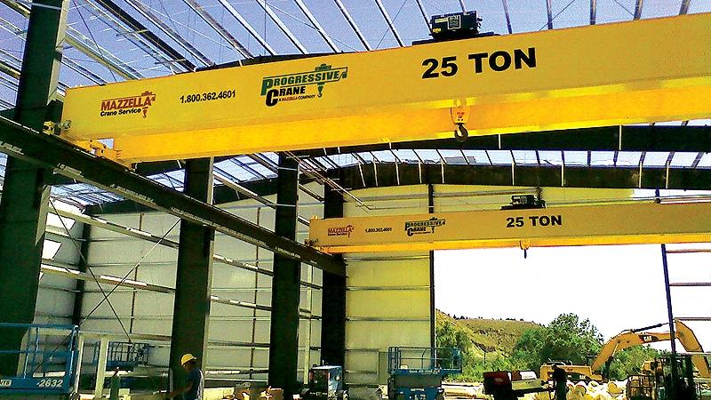 Top 10 Reasons to Consider Financing Your Overhead Crane Equipment: Crane Installation 1
