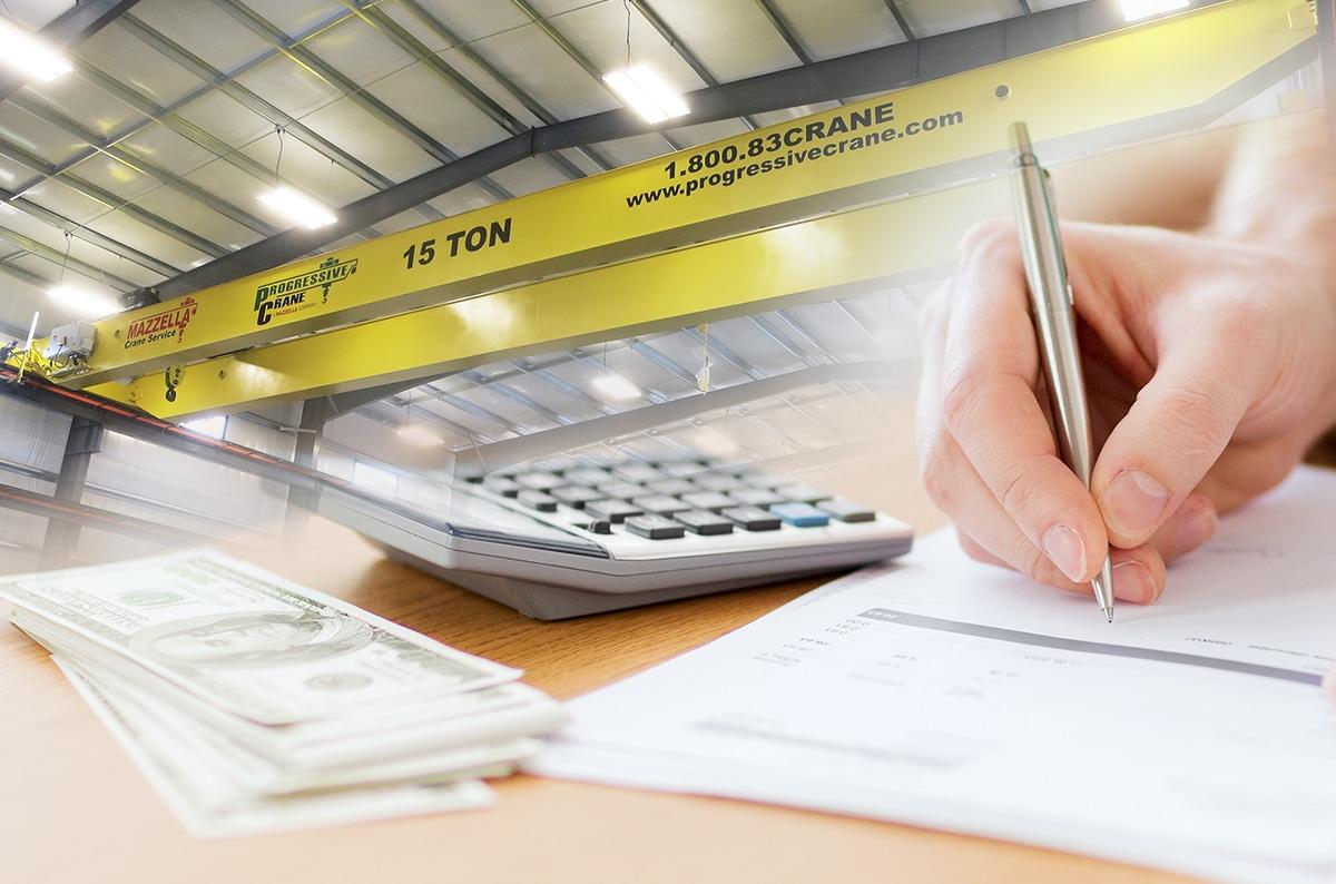 Top 10 Reasons to Consider Financing Your Overhead Crane Equipment