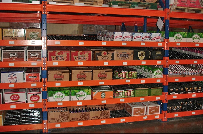 Warehouse Racking and Pallet Rack Systems: Different Types and Design: Carton Flow Rack