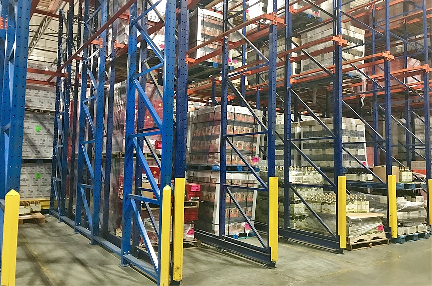 Warehouse Racking and Pallet Rack Systems: Different Types and Design: Drive in Racking