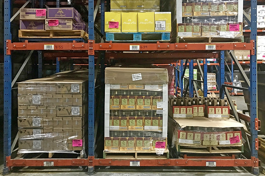 Warehouse Racking and Pallet Rack Systems: Different Types and Design: Push Back Pallet Rack