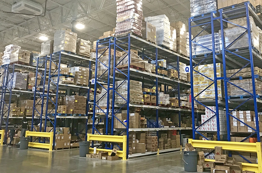 Warehouse Racking and Pallet Rack Systems: Different Types and Design: Selective Pallet Rack Storage