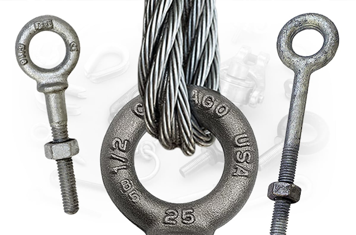 What Are The Different Types of Eye Bolts Used for Overhead Lifts?