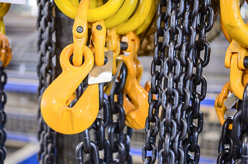 What are the Different Types of Lifting Hooks and Sling Hooks: Hooks on Chain