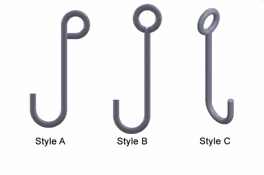 What are the Different Types of Lifting Hooks and Sling Hooks: J Hooks