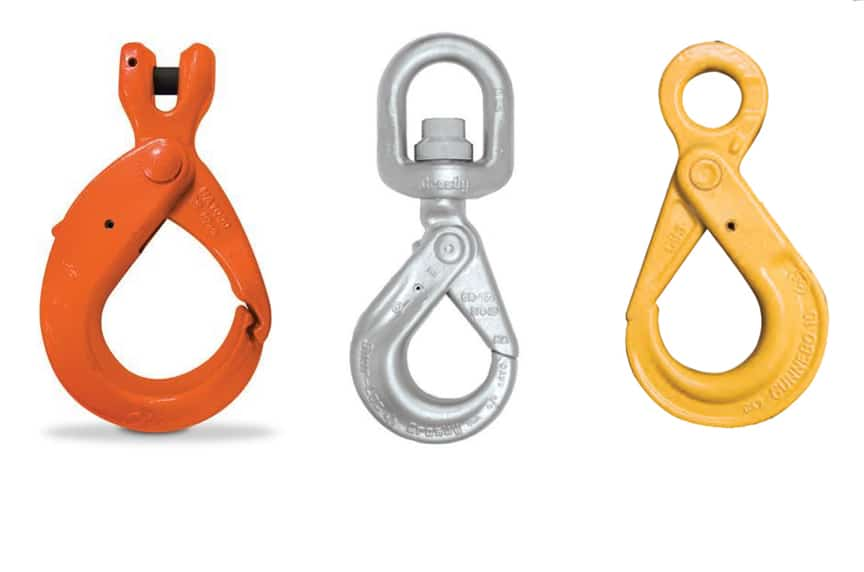 What are the Different Types of Lifting Hooks and Sling Hooks: Positive Locking Latch