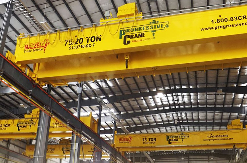 What are the Different Types of Overhead Cranes: Double Girder Top Running Crane