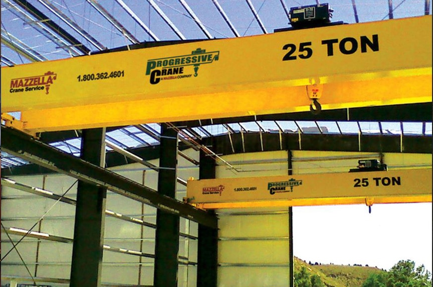What are the Different Types of Overhead Cranes: Double Girder Crane