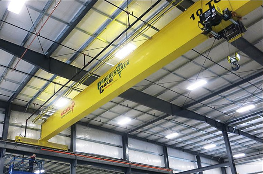What are the Different Types of Overhead Cranes: Single Girder Crane 3