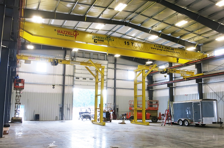 What are the Different Types of Overhead Cranes: Types of Cranes