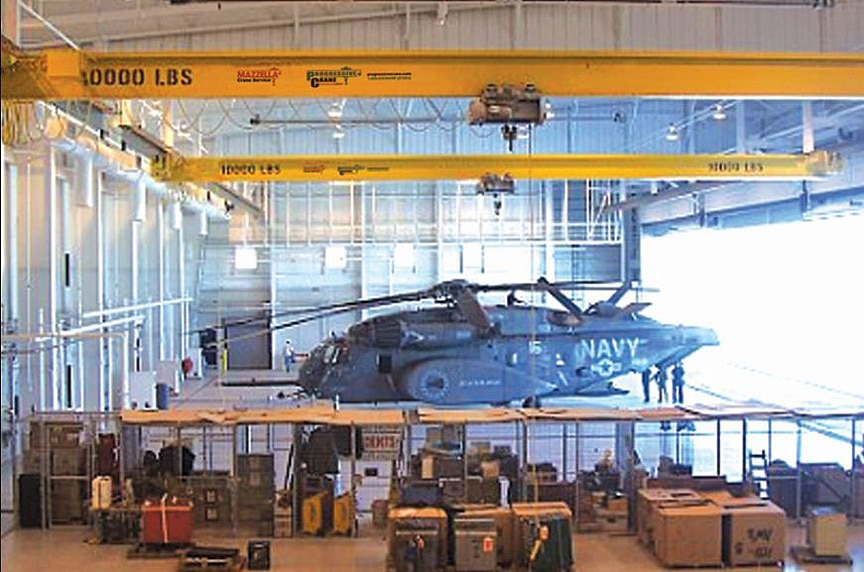 What are the Different Types of Overhead Cranes: Single Girder Under Running Cranes 1