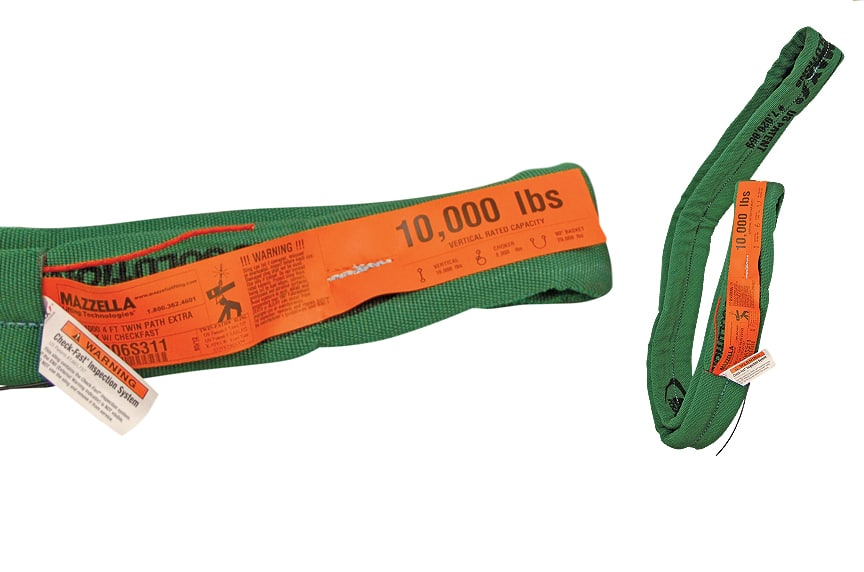 What Information Must Be Included on a Sling Identification Tag: High Performance Roundsling Tag