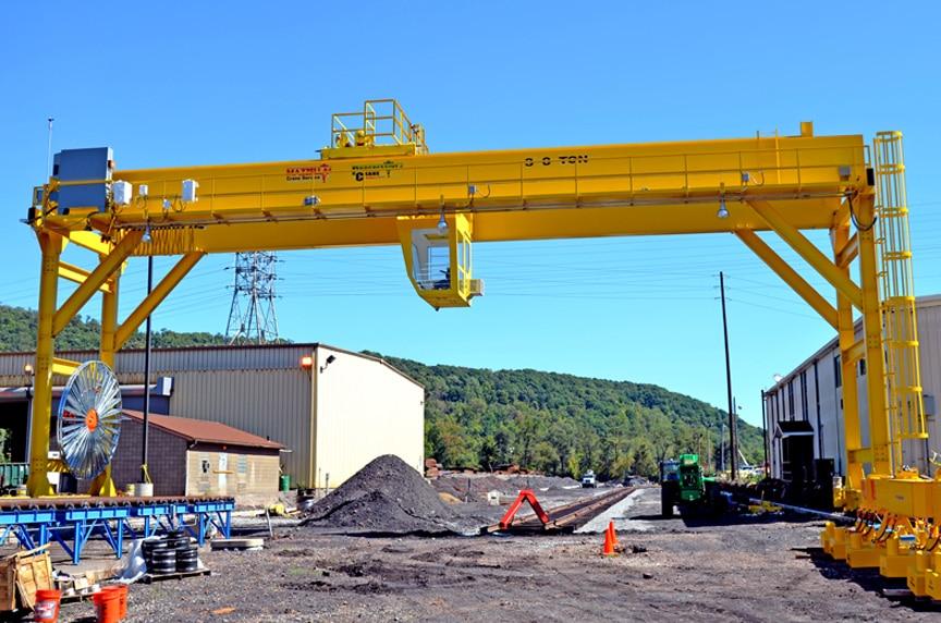 What is an Overhead Crane: Gantry Crane