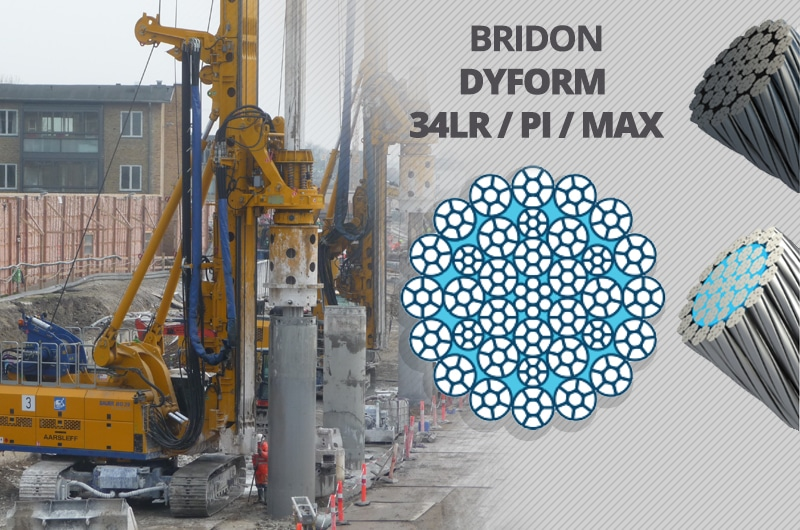 What is the Best Kelly Line Rope for a Foundation Drilling Rig: Bridon Dyform 34LR
