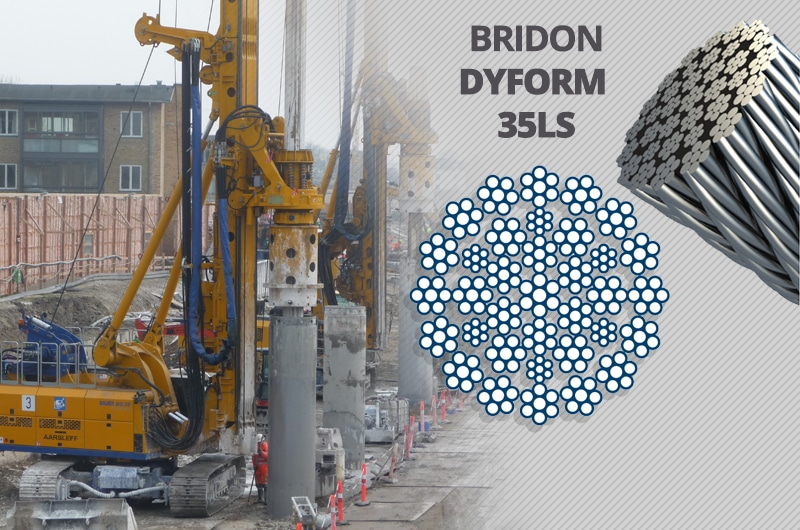 What is the Best Kelly Line Rope for a Foundation Drilling Rig: Bridon Dyform 35LS