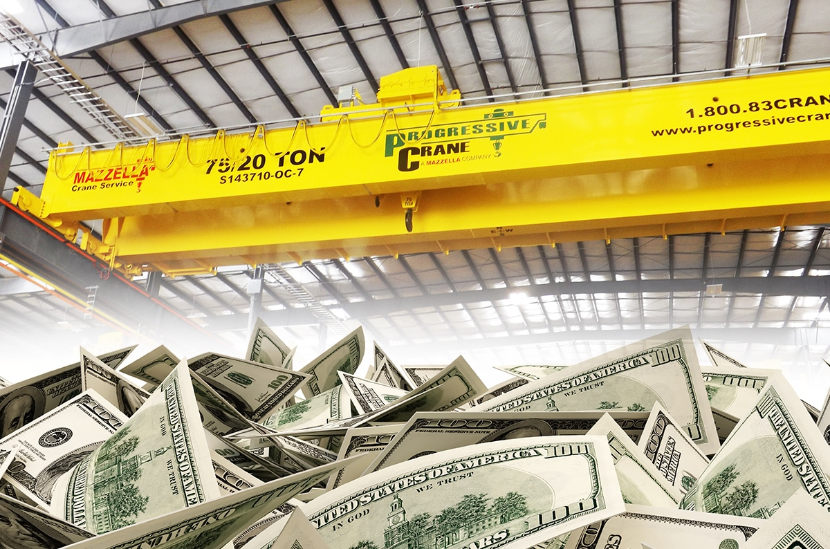 What is the Cost of an Overhead Crane System?