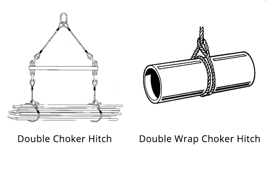 Which Sling Hitch is Best for Your Lift: Double Choker Hitches