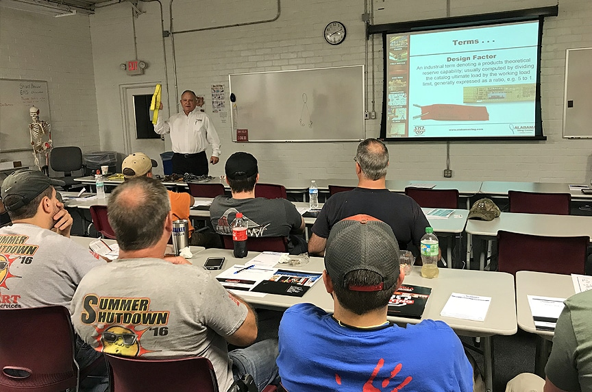 Why Pay for Lifting and Rigging Training When You Can Get it for Free: Classroom Training