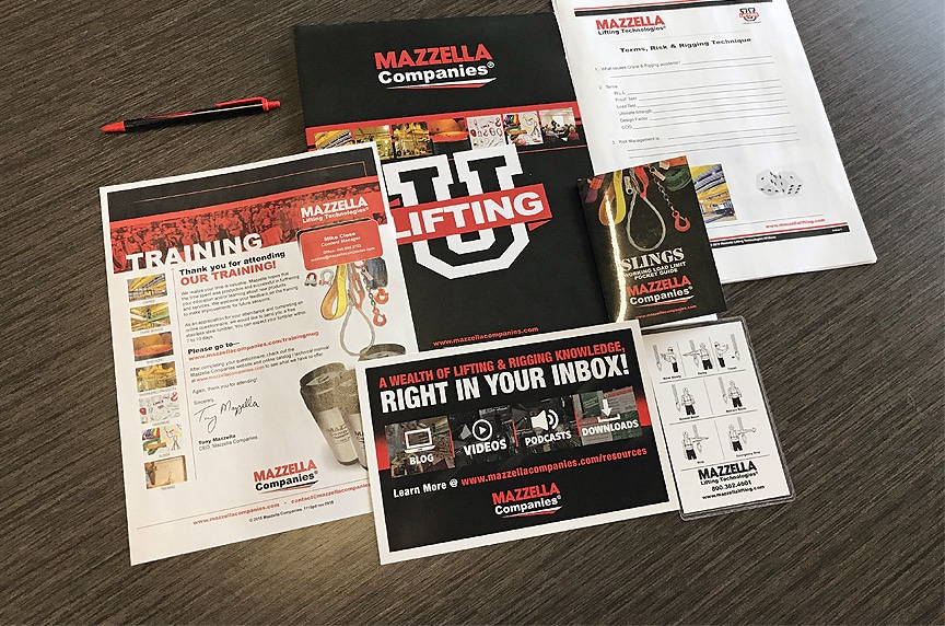 Why Pay for Lifting and Rigging Training When You Can Get it for Free: Lifting U Course Materials