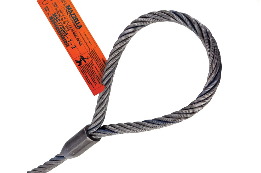 Wire Rope Slings: What Does Import and Domestic Really Mean: Flemish Eye Wire Rope Sling Eye
