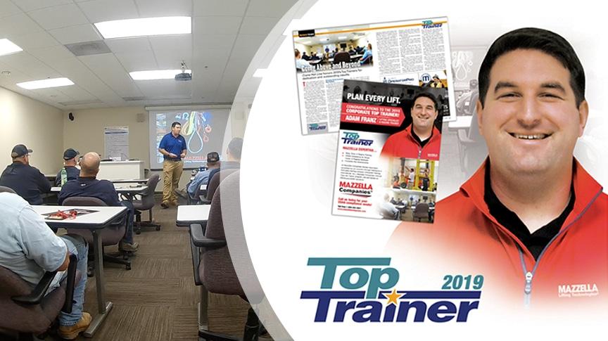 Adam Franz of Mazzella Companies Wins 2019 Corporate Top Trainer Award: Main