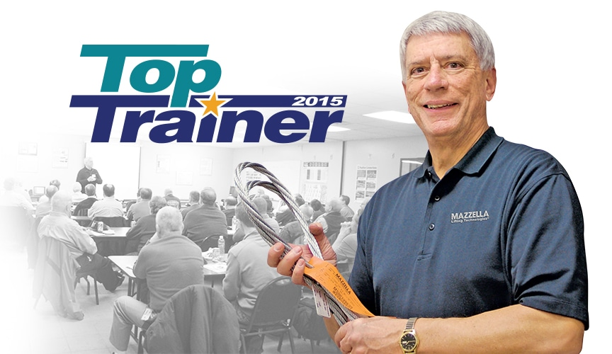 Al Abel Receives Fourth Top Trainer Corporate Honorable Mention From Crane & Rigging Hotline Magazine: Main