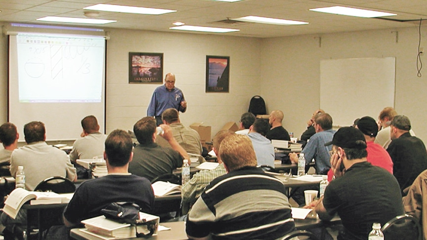 Great Turnout For Mazzella Companies Certified Inspector Courses: Main