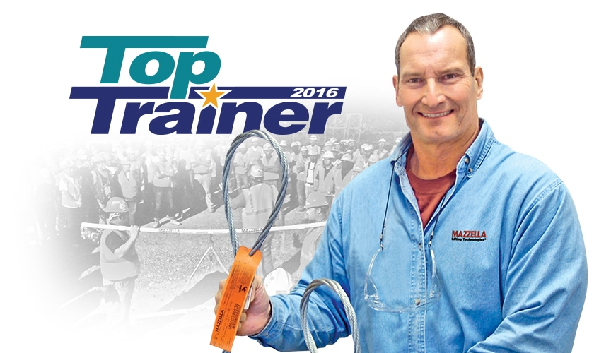 Mazzella's Larry Petkovsek Awarded 2016 Top Trainer Corporate Honorable Mention: Main