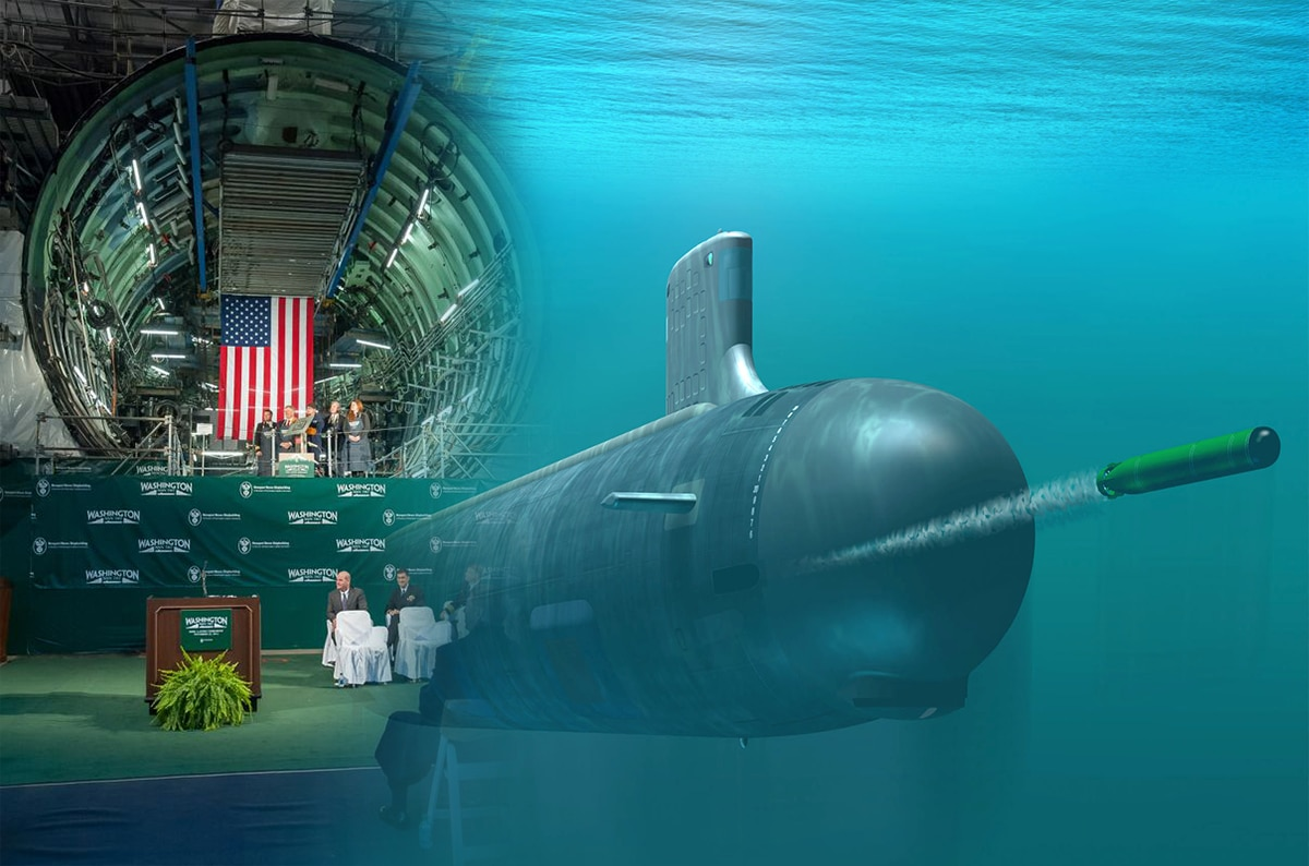 J Henry Holland Invited to Ceremony for Virginia-Class Washington Submarine