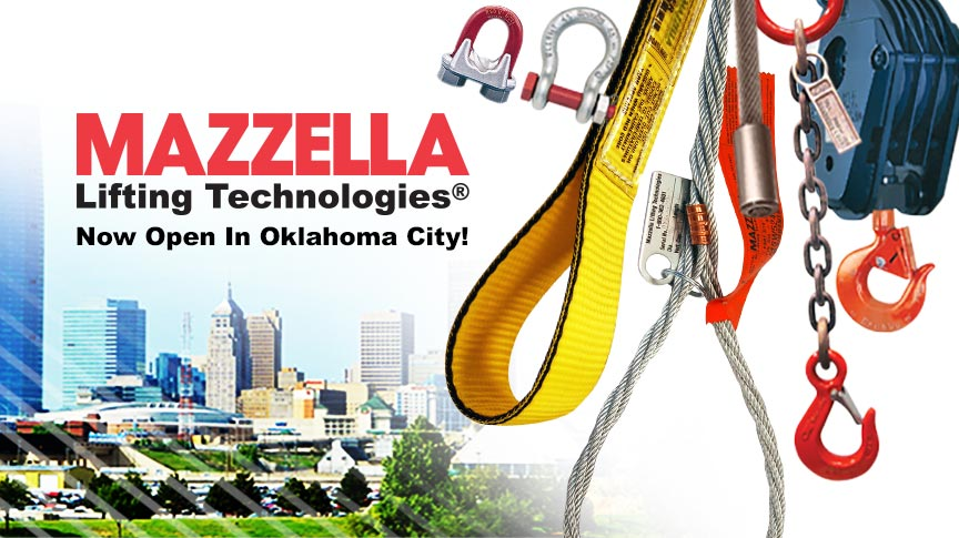 Mazzella Lifting Technologies Opens Branch in Oklahoma City: Main