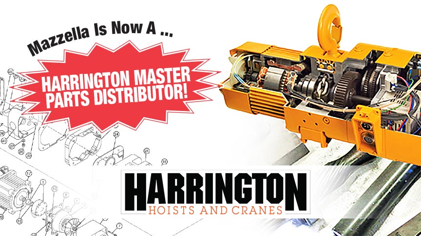 Mazzella Now A Master Parts Distributor For Harrington: Main