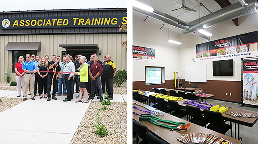 Mazzella Sponsors Classroom at Associated Training Services: Main