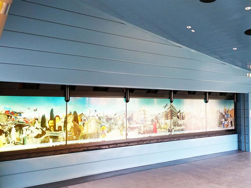 Sheffield Metals Digital Wall Project: Main