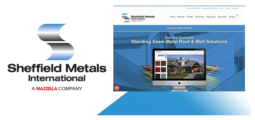 Sheffield Metals Launches New Website With Responsive Interface Design: Main