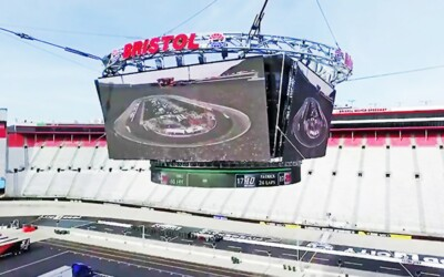 "Tennessee Sling Center Provides Rigging For ""Colossus"" At Bristol Motor Speedway: Featured"