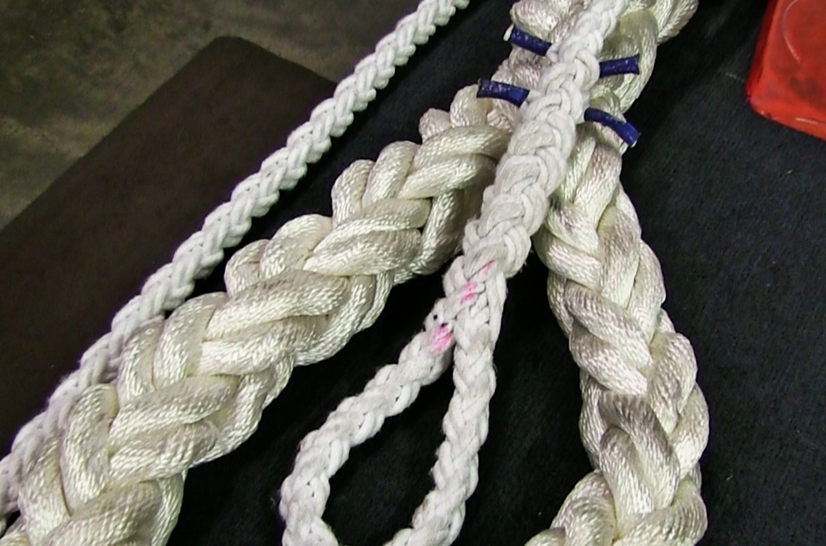 Efficiencies of Common Rope Splices, Knots, Bends, and Hitches