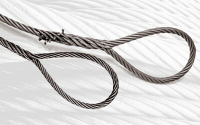 Single-Part Body Hand Spliced Wire Rope Slings: Featured