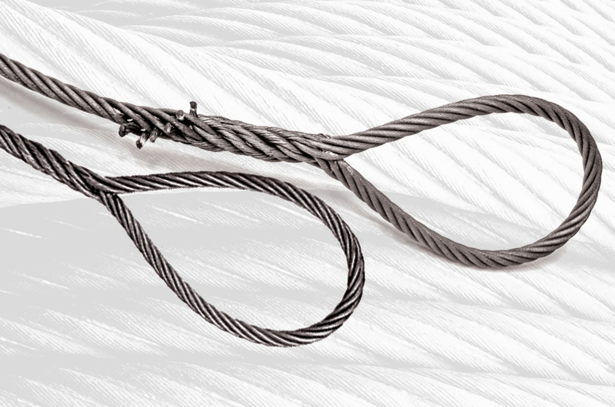 Single-Part Body Hand Spliced Wire Rope Slings