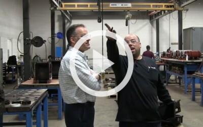 Duty Cycle / CMAA Service Classification of an Overhead Crane: Video