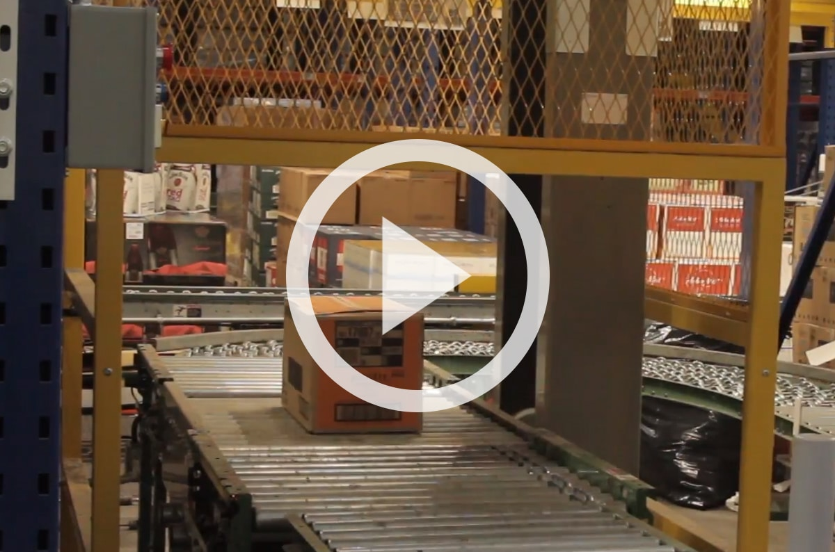 Pallet Racking & Vertical Lift Solution: Southern Glazer's Wine & Spirits
