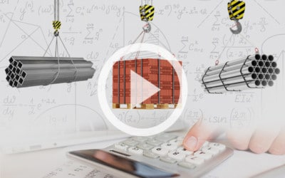 How to Calculate & Determine the Weight of a Load for Overhead Lifts: Video