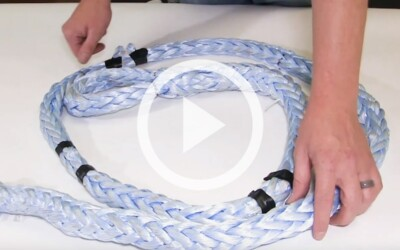 How to Inspect a Synthetic Rope Sling to OSHA and ASME Standards: Video