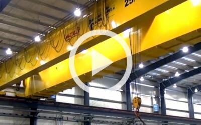 Single Girder vs. Double Girder Overhead Bridge Crane Design: Video