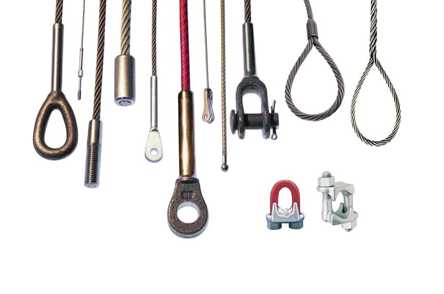 Wire Rope End Terminations: Sockets, Wire Rope Clips, and Splices: Wire Rope End Terminations