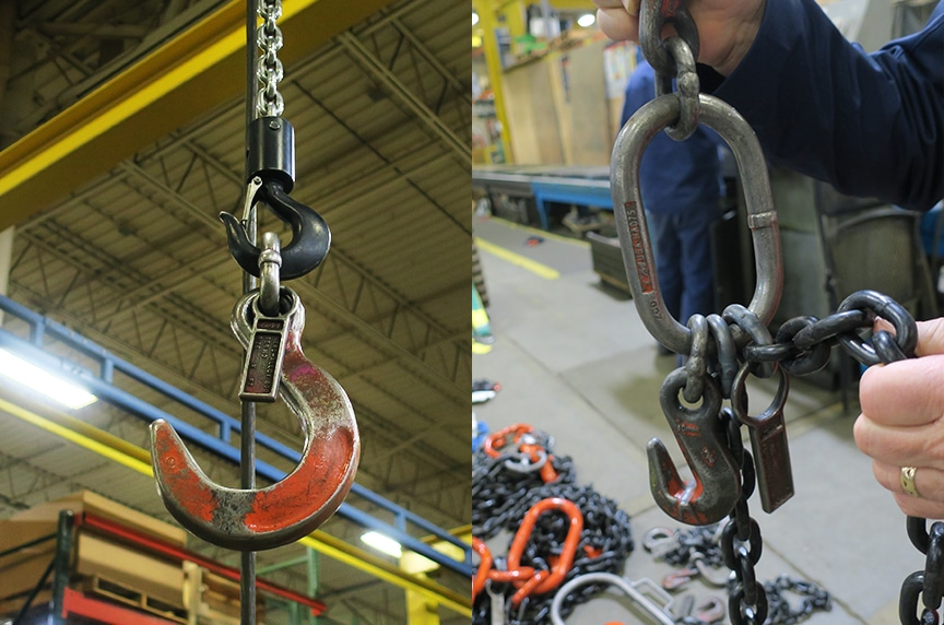 Master Links and Rings: Welded Coupling Links