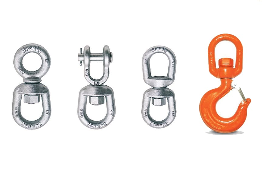 Ball Bearing and Positioning Swivels: Positioning Swivels